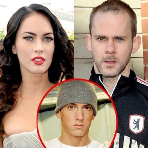 Megan Fox, Dominic Monaghan, Eminem