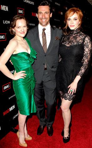 Christina Hendricks, Jon Hamm, Elisabeth Moss