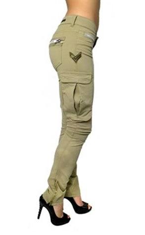 Rockstar's Beige Cargo Pant