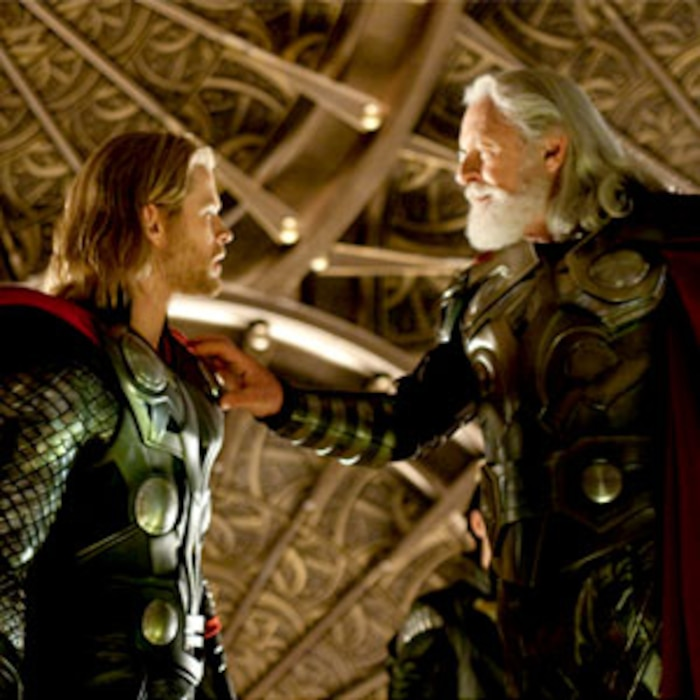 Thor, Chris Hemsworth, Anthony Hopkins