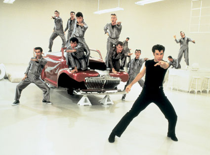 John Travolta, Grease
