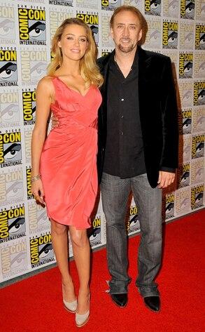 Amber Heard, Nicolas Cage