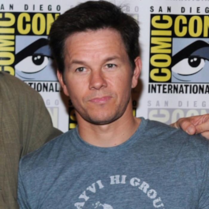 Actors Will Ferrell and Eva Mendes, director Adam McKay, Mark Wahlberg