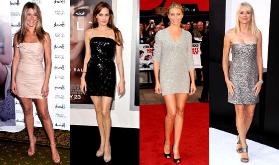 Angelina Jolie, Jennifer Aniston, Naomi Watts, Cameron Diaz