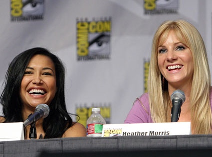 Naya Rivera, Heather Morris