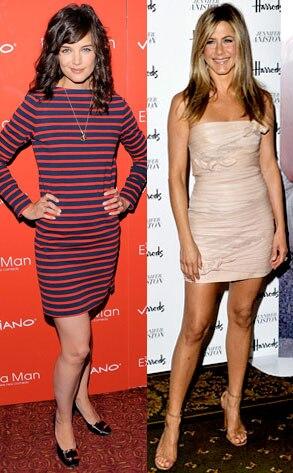 Katie Holmes, Jennifer Aniston