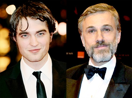 Robert Pattinson, Christoph Waltz