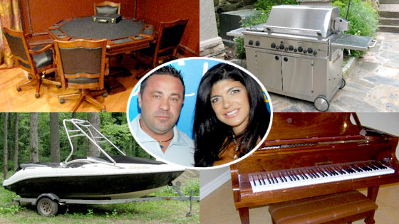 Giudice Auction Items, Teresa Giudice, Joe Giudice