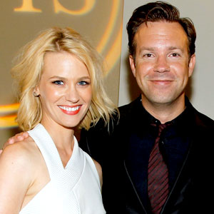 January Jones, Jason Sudeikis