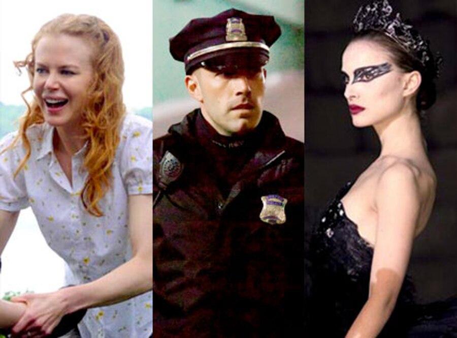 Nicole Kidman, Rabbit Hole, Ben Affleck, The Town, Natalie Portman, Black Swan