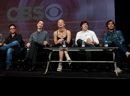 Johnny Galecki, Jim Parsons, Kaley Cuoco, Simon Helberg, Kunal NayyarThe Big Bang Theory Cast, TCA
