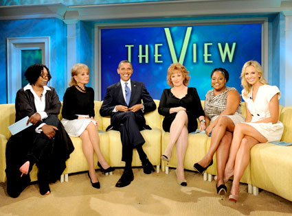 The View, President Barack Obama
