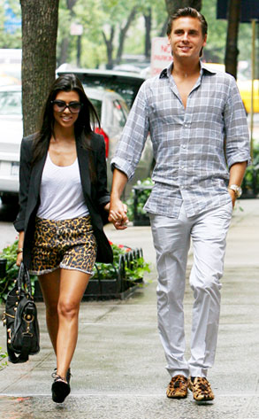 Kourtney Kardashian, Scott Disick