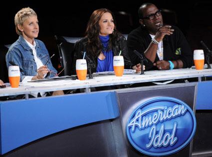 American Idol, Ellen DeGeneres, Kara DioGuardi, Randy Jackson