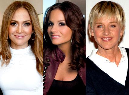 Jennifer Lopez, Kara DioGuardi, Ellen DeGeneres