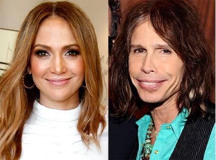 Steven Tyler, Jennifer Lopez