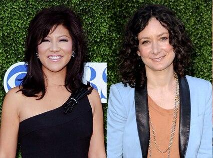 Julie Chen, Sara Gilbert