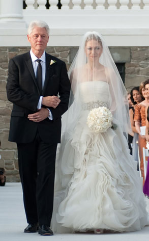 Bill Clinton, Chelsea Clinton, Marc Mezvinsky Wedding
