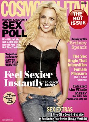 Britney Spears, Cosmpolitan