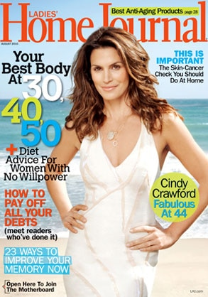 Cindy Crawford, Ladies Home Journal