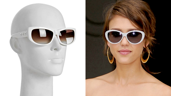 Marc Jacobs Sunglasses, Jessica Alba