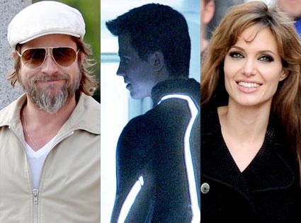 Brad Pitt, Tron Legacy, Angelina Jolie