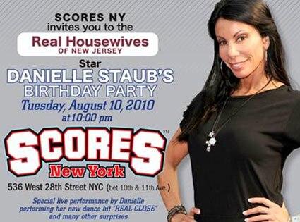 Danielle Staub, Scores Invite