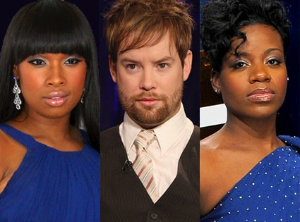 Jennifer Hudson, David Cook, Fantasia Barrino