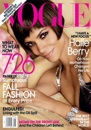 Halle Berry, Vogue Cover