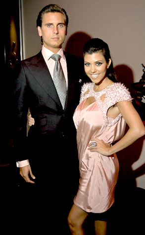 Scott Disick, Kourtney Kardsahian