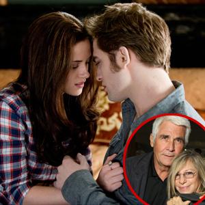 Kristen Stewart, Robert Pattinson, James Brolin, Barbra Streisand
