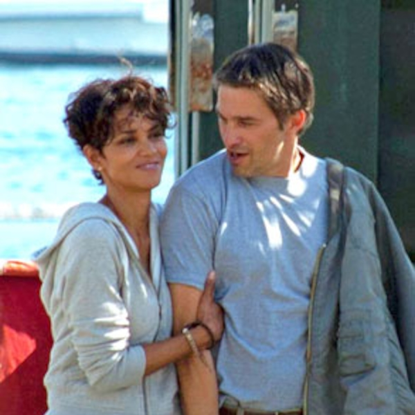 Halle Berry & Olivier Martinez from Kissing Costars ...