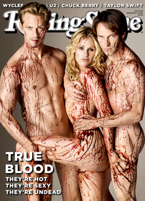 Anna Paquin, Alexander Skarsgard, Stephen Moyer, Rolling Stone Cover