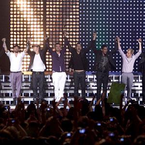 Backstreet Boys, New Kids On The Block
