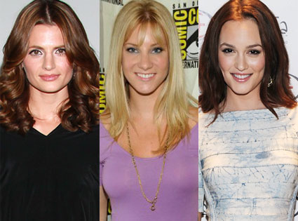 Heather Morris, Stana Katic, Leighton Meester