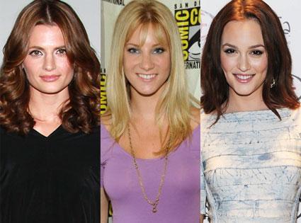 Heather Morris, Stana Katic, Leighton Meester