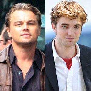 Rob Pattinson, Leonardo Dicaprio