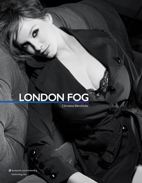 Christina Hendricks, London Fog