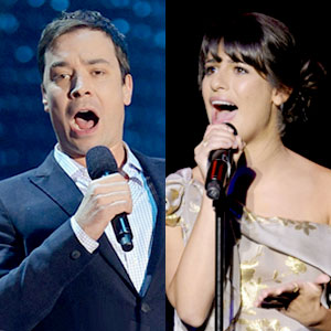 Jimmy Fallon, Lea Michele