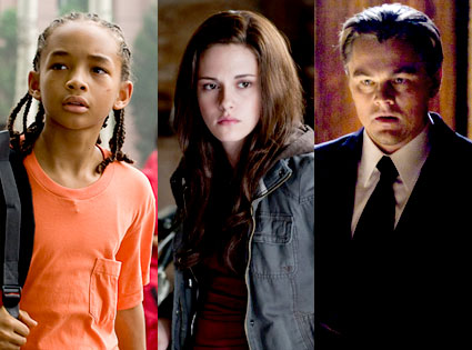 The Karate Kid, Eclipse, Inception