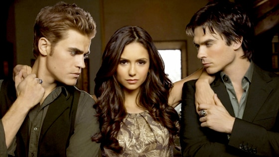 Paul Wesley, Nina Dobrev, Ian Somerhalder, The Vampire Diaries