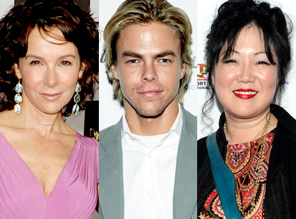 Jennifer Grey, Derek Hough, Margaret Cho