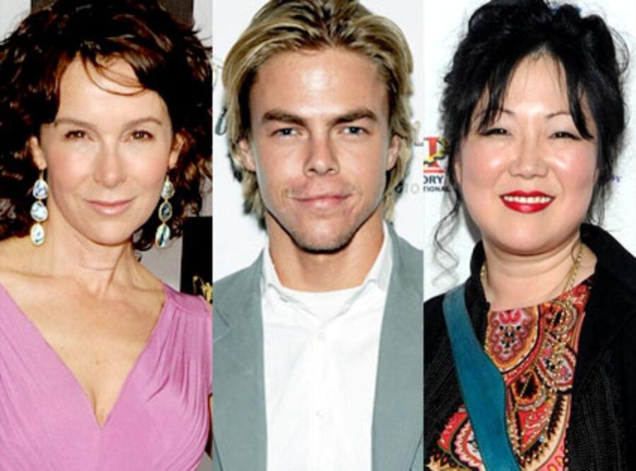 Jennifer Grey, Derek Hough, Margaret Cho