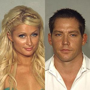 Paris Hilton, Cy Waits, Mugshot