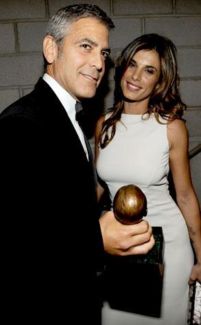 George Clooney, Elisabetta Canalis