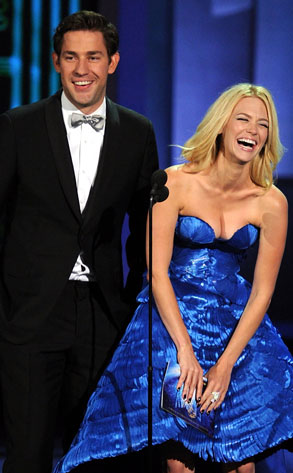 John Krasinski, January Jones