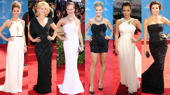 Kim Kardashian Kelly Osbourne Julie Benz Heidi Klum Rose Byrne Eva Longoria Parker