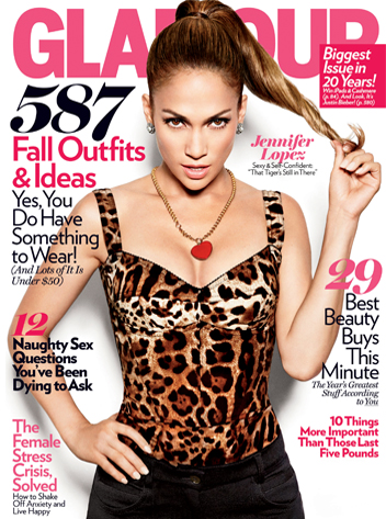 Jennifer Lopez, Glamour Magazine