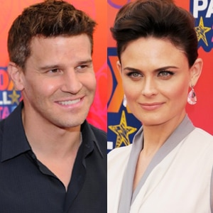 David Boreanaz, Emily Deschanel