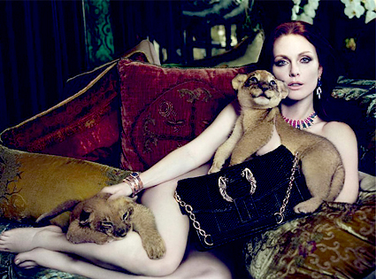 Julianne Moore, Bulgari Ad